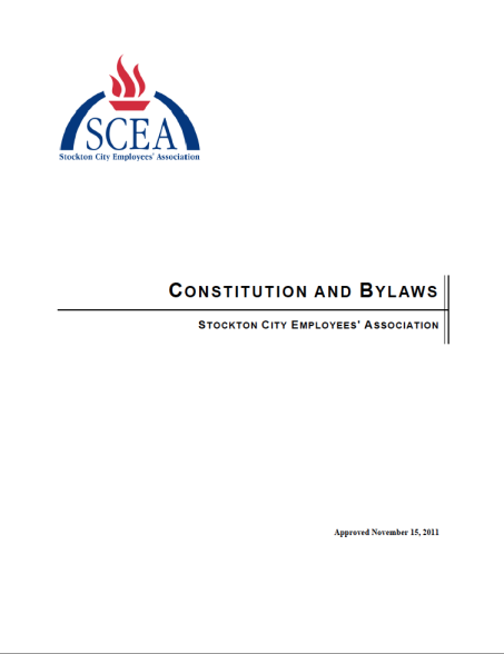 SCEA Constitution and Bylaws